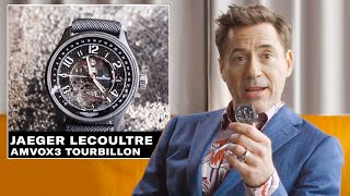 Robert Downey Jr. Shows Off His Epic Watch Coll...