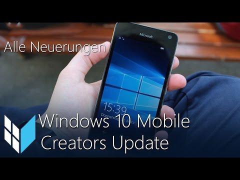 Windows 10 Mobile Creators Update: Alle Neuerungen / Review (Deutsch / German)