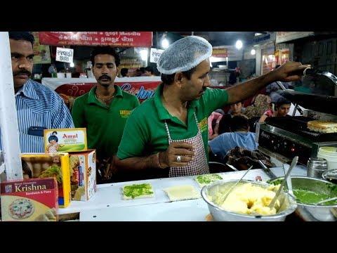 Krishna Sandwich and Pizza Center, Manek Chowk, Ahmedabad (India)