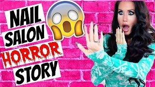 MY NAIL SALON HORROR STORY | STORYTIME | COLLAB WITH TANA MONGEAU