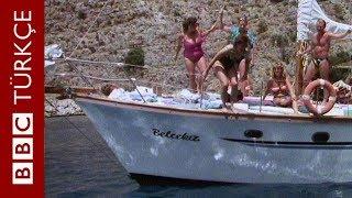 1989 yılında Ege kıyılarında tatil