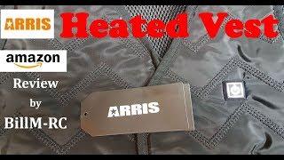 Arris Rechargable Warm Vest review - Great RC accessory