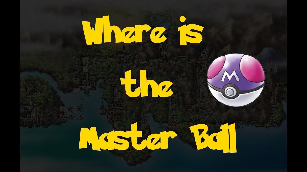 Pokemon Or Heartgold Comment Avoir Des Master Ball