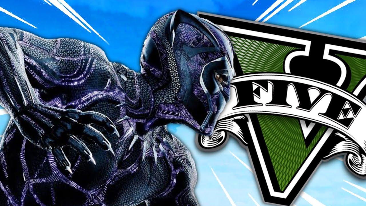 GTA 5 : BLACK PANTHER in GTA V !! - Rachitroo
