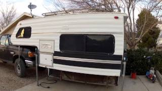 '91 Lance Squire LS4000 / 9.4 Cabover Camper In/Out Short Tour