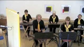 """Hackbrett-Orchester """"Gelbe Saiten"""" - Klarinettenmuckl"""