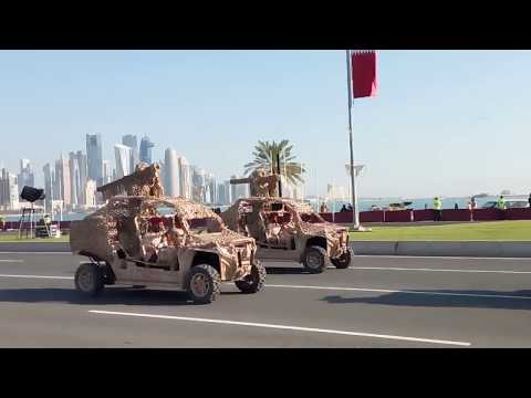 Today live for Qatar national day..trial.