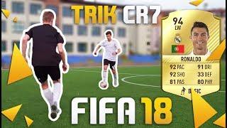 Trik RONALDO - FIFA 18 ⚽ Jak okiwać obrońcę? odc. 11