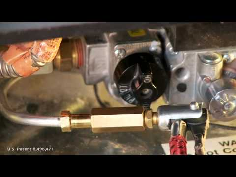 Gas Pilot Cleaner - A 3 Minute Repair - GasPilotCleaner.com - YouTube