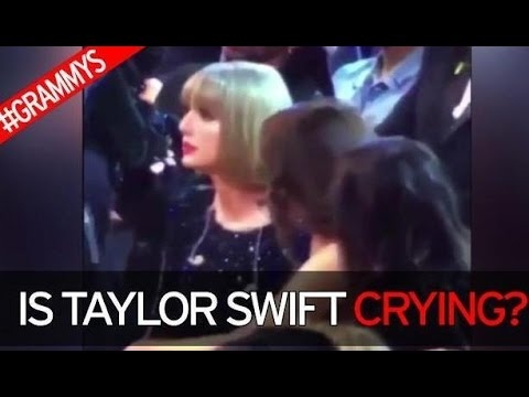 Taylor Swift Spotted CRYING At Grammy Awards 2016