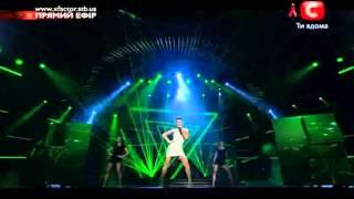 X Factor Ukraine 2012 Live show 6 Yulia Plaksina