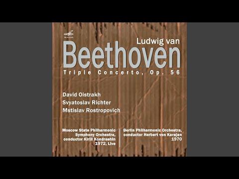 Triple Concerto for Violin, Cello, and Piano in C major, Op. 56: III. Rondo alla Polacca