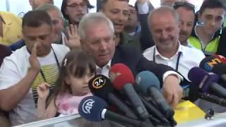 Aziz Yıldırım Oy Kullandı | Fenerbahçe Başkanlık Seçimi