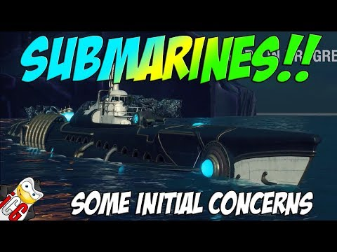 World Of Warships - SUBMARINES!! :O - Some Initial Concerns