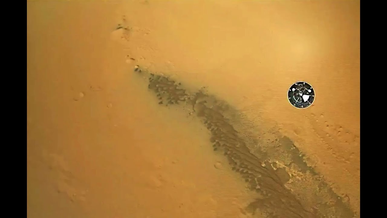 footage landing on mars - photo #8
