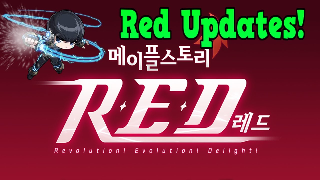 Maple Monday - New Red Updates(Child Of God) / Xenon GMS!