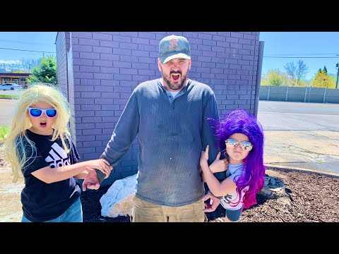 We KIDNAP DAD from WORK! He gets in BIG TROUBLE!