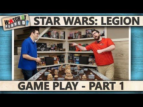 Star Wars: Legion - Game Play 1