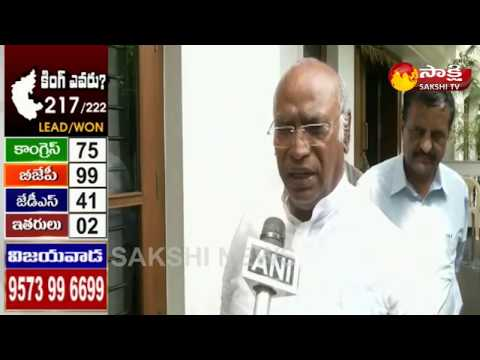 Karnataka Elections Results 2018 || Mallikarjun Kharge Face to Face - Watch Exclusive