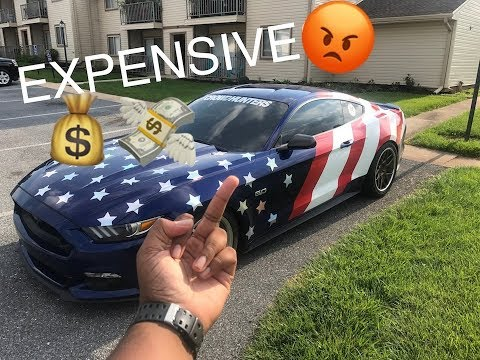 How Much Does My Mustang Cost To Insure?! 21 Year Old Ownership Costs!