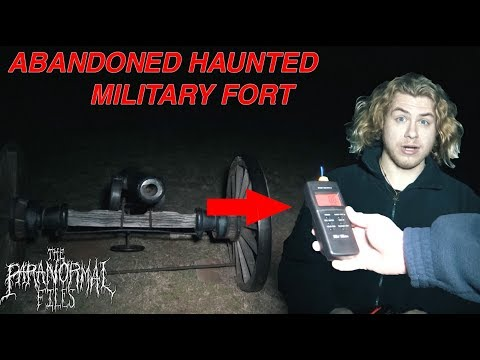 👻 (WHO STALKED US??) ABANDONED MILITARY FORT GHOST HUNT (Texas Paranormal Investigation HD 2018)👻
