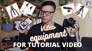 BASIC VIDEO EQUIPMENT FOR FLORAL DESIGN TUTORIAL VIDEOS ??? TECH TIME