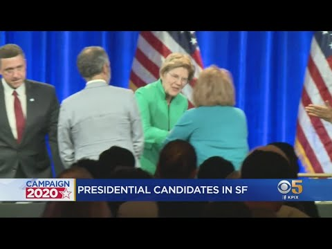 Candidates Shmooze Democratic Party Convention Delegates in S.F.