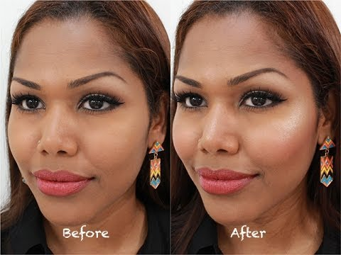 Highlight and contour for everyday woman | medium/dark skin tone ...