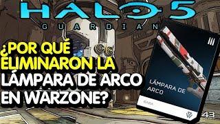 Halo 5 /¿Por qué eliminaron la lámpara de arco en Warzone?