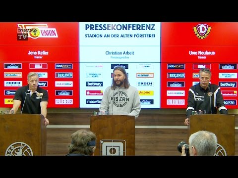 2. Spieltag | FCU - SGD | Pressekonferenz nach dem Spiel