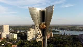 С квадрокоптера Ростов арена и...