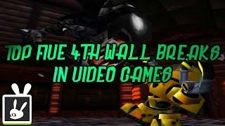 Top Five 4th Wall Breaks in Video Games