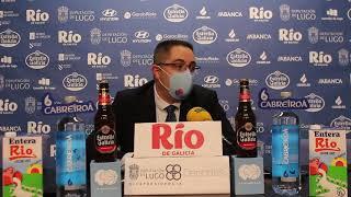 Video Diego Epifanio rueda de prensa posterior al Leche Río Breogán - Clínica SUr Aspasia RVB
