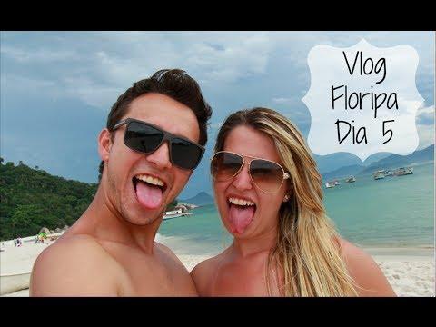 Vlog Floripa: Dia 5 - Praia e Ilha do Campeche  - Fabi Santina