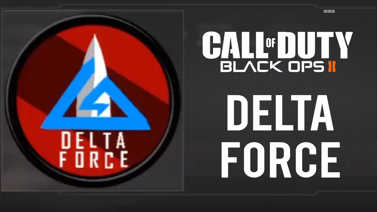 Delta Force Emblem Tutorial - Black Ops 2