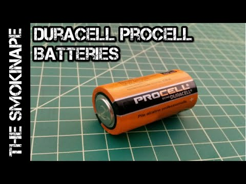 Duracell PROCELL Batteries - TheSmokinApe