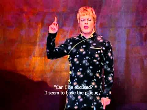 Eddie Izzard - Dress to Kill, Puberty