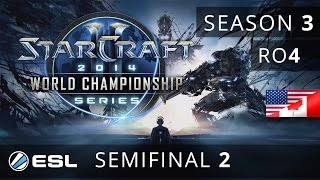 Polt vs. Bomber- (TvT) - Semifinal - WCS America 2014 Season 3 - StarCraft 2