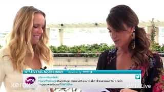 Caroline Wozniacki | WTA Live All Access Hour presented by Xerox | 2014 WTA Finals
