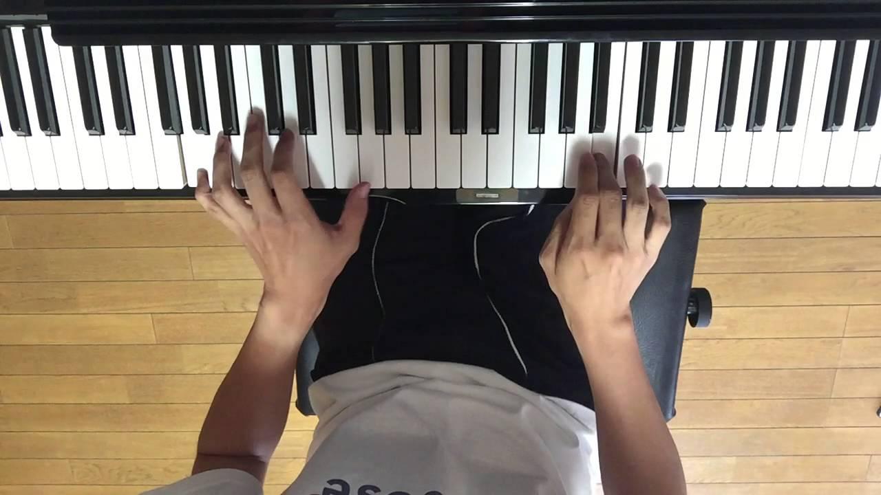 クロムクロ OP デストピア / GLAY ピアノで弾いてみた