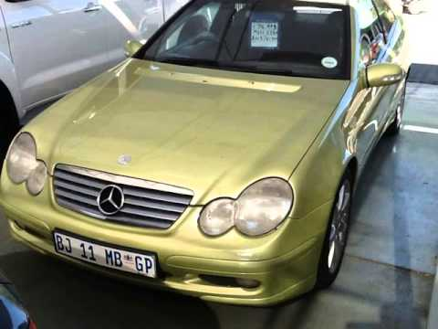2003 mercedes benz c class c230 kompressor sports coup evolution auto auto for sale on auto. Black Bedroom Furniture Sets. Home Design Ideas