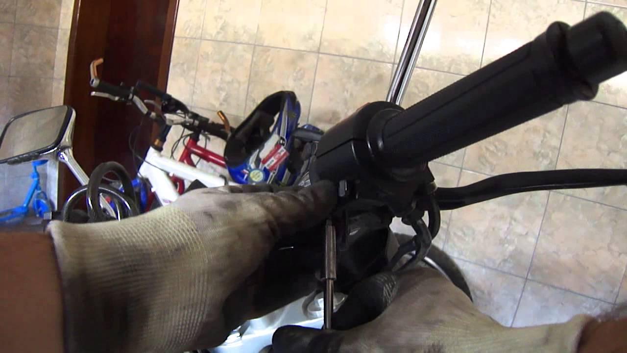 CB300R Lubrificando Cabo Do Acelerador Moto
