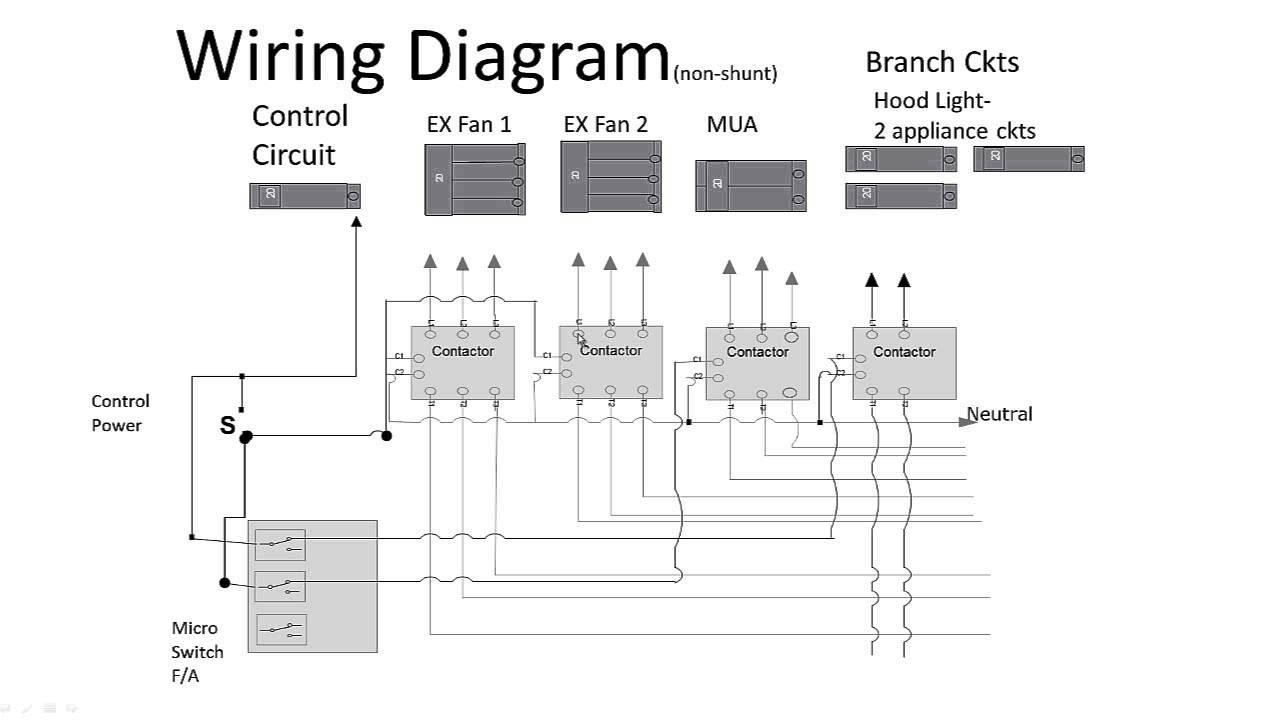 a trip switch wiring diagram