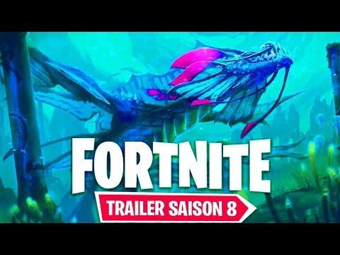 EPIC GAMES ANNONCE LA SAISON 8 DE FORNITE !