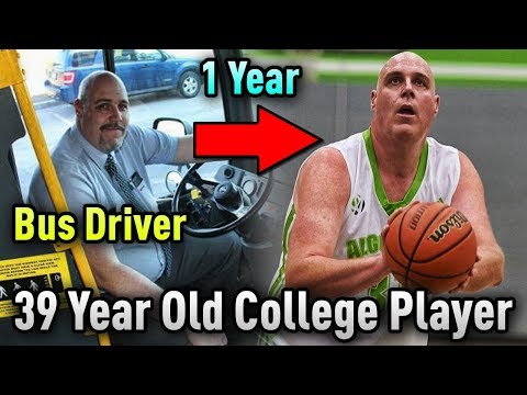 The 39 Year Old BUS DRIVER That STARTS For A College Basketball Team!