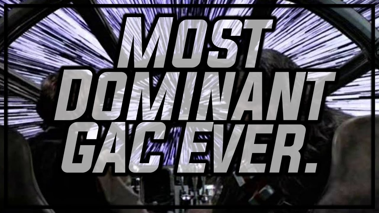 The Fastest Most DOMINANT GAC to Date Fam!!   Star Wars: Galaxy of Heroes