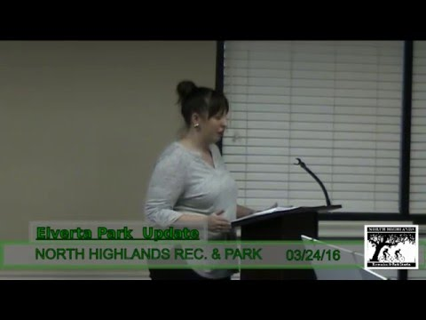 North Highlands Recreation and park,  March 24,  2016  special meeting
