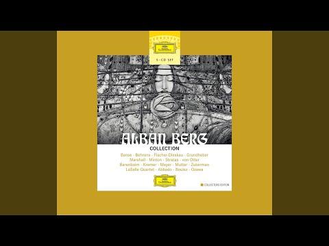 Berg: Lyric Suite For String Quartet (1926) - IV. Adagio Appassionato