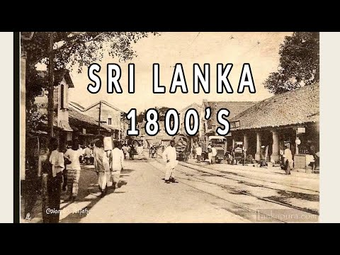 Best Old photos video Life of Sri Lankans Ceylon 200 years ago History Video Ancient Asian people