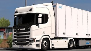 [1.32] Euro Truck Simulator 2 | Low Chassis for Scania R&S 2016 | Mods